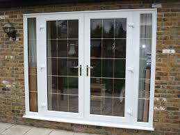our double glazed upvc french doors are supplied and fitted with toughened double glazed 28mm pilkington k energy saving safety glass to bs 6206