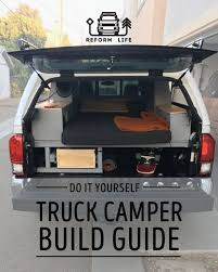 Free PDF Guide on how to build your own ultimate truck camper. | RV ...