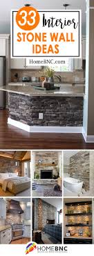 33 exceptional interior stone wall ideas to add extra charm your home