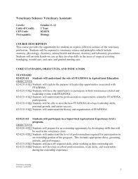 ... Job Description Veterinary Assistant Resume Examples Veterinary  Assistant Resume Examples Resume For A Veterinary Assistant ...