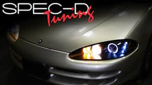 SPECDTUNING INSTALLATION VIDEO: 1998-2004 DODGE INTREPID PROJECTOR ...