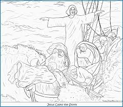 Hurricane Coloring Pages Luxury Sunday School Jesus Bible Coloring