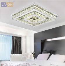modern square chandelier elegant to led modern square crystal stainless steel led lamp led light ceiling