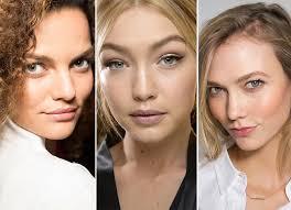 fall winter 2016 2016 makeup trends natural no makeup makeup look
