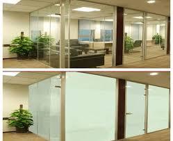 smart glass panel wall