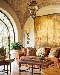 Tuscan Decor Living Room Tuscan Decorating Living Room With Tapestry And Lantern Tuscan
