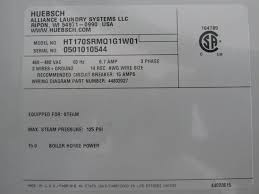 huebsch tumble dryer model ht170 one 1 used huebsch tumble dryer model ht170srmq1g1wo1 170 lb capacity equipped for steam heat mawp 125 psi 27 opening 51 diameter x 42 deep