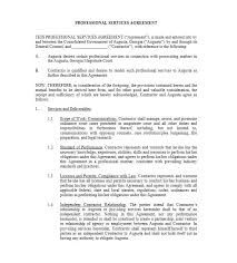 business services template 50 professional service agreement templates contracts