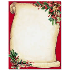 Christmas Menu Borders Templates Merry Christmas And Happy New