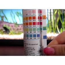 Api Saltwater Master Test Kit Chart Liquid Salt Water Master Test Kit Api Aquarium