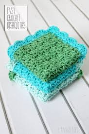 Easy Crochet Dishcloth Patterns Cool Easy Crochet Dish Cloth Pattern