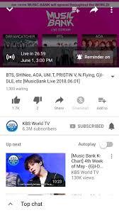 Music Bank K Chart 2018 Bts Musicbank