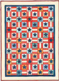 How to Make Stars & Stripes Forever Quilt Pattern | HowStuffWorks & Stars & Stripes Forever Quilt Pattern Adamdwight.com