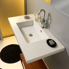 ceramica tecla mars ceramic 42 wall mount bathroom sink with overflow wayfair