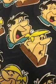 details about flintstones tv bam bam cartoon silk necktie tie