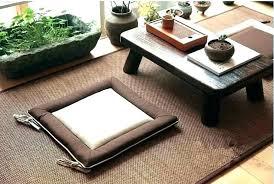 zen coffee table garden sand style