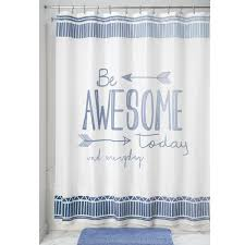 novelty shower curtains. Be Awesome Shower Curtain Novelty Curtains