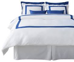 lacozi blue and white duvet cover set queen