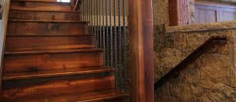 Reclaimed Antique Heart Pine Rustic Custom Stair Treads