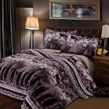 What size is a queen comforter Purple 3d Wolf Cool Bedding Queen Comforter Sets Bed Cover Homemade Bedspread Duvet Cover Set Queen King Size Bedding Double Bed Sheets The Runners Soul 3d Wolf Cool Bedding Queen Comforter Sets Bed Cover Homemade