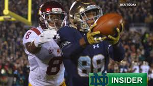 Notre Dame Spring Depth Chart Preview Wide Receivers Nbc