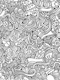 Mandala Coloring Pages For Adults Theseable Abstract Relieve Stress