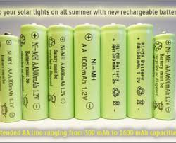 5 Main Reasons Why Your Solar Lights Are Not Performing As Well As Solar Garden Lights Batteries Rechargeable