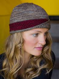 Knit Hat Patterns Adorable Knit A Modern Hat With Classic Style The Lucy Hat Interweave