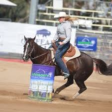 Polly Gardner was timed at 18.9 seconds in barrel racing ... | Buy Photos  Online | Queensland Times