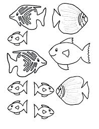coloring pages five loaves two fishes rainbow fish book also small on coloring pages of fishes
