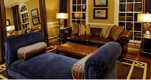 20 blue and brown living room designs