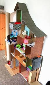 doll furniture recycled materials. 35 Ideas Para Hacer Una Casita De Muñecas Doll Furniture Recycled Materials