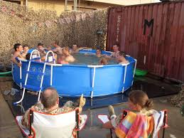 Affordable swimming pools intex above ground pool decks intex above