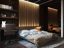 Bedroom Designs: Indirect Lighting On Textured Wall - Bedroom
