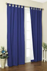 red velvet curtains luxury insulated tab top curtain panel s
