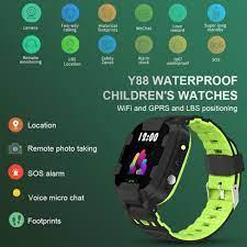 Đồng hồ thông minh trẻ em Y88 Chống nước có Tiếng Việt - Đồng hồ thông minh