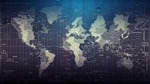 World map wallpaper ...