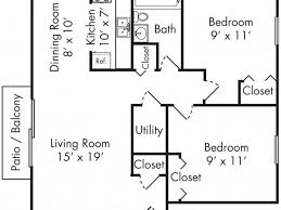 small two bedroom apartment floor plans. medium size of bedroom:35 pretty 2 bedroom apartment floor plans small two i