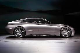 Who Designs Hyundai Cars Hyundais Le Fil Rouge Concept Car Makes North American