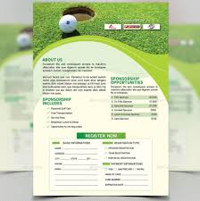 Golf Tournament Flyer Template Golf Outing Brochure Template Elim Carpentersdaughter Co