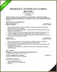 Pharmacy Technician Resume Objective 100 Pharmacy Technician Resume Sample SampleResumeFormats100 78