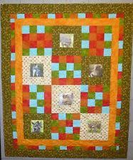 Original Handcrafted Quilts | eBay & Handmade Animal Love Baby Throw Quilt 1 by Arlene's Quilts Adamdwight.com