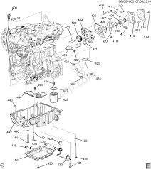 2014-2015 GXGYGZ69 ENGINE ASM-2.5L L4 PART 4 OIL PUMPPAN ...