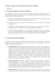 Formatos De Boletines Informativos Tema 4 Ejercicios De Periodismo Docsity
