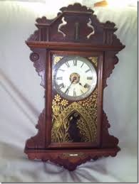 antique seth thomas regulator wall clock with level and thermometer 1 of 5 see more