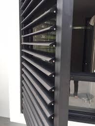 Aluminum Shutters For Exterior House WindowsAluminum Louvered Exterior Doors