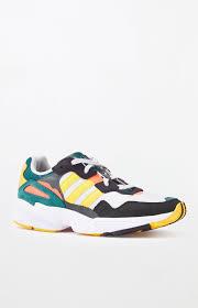 Adidas Grey Gold Yung 96 Shoes