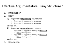 argumentative essay feedback on first draft key areas for  effective argumentative essay structure 1 1 introduction 2 body a arguments supporting your