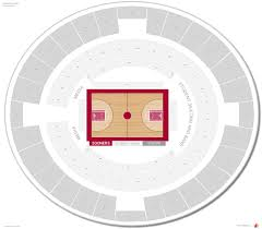 Cn Center Seating Chart Lloyd Noble Center Oklahoma Seating Guide Rateyourseats Com