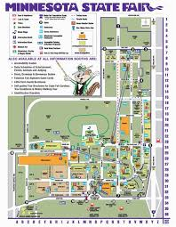 Mn State Fair Grandstand Seating Chart Minnesota State Fair Map Minnesota State Fair I Love Our